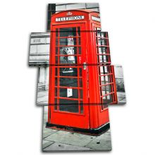 London Telephone Box Landmarks - 13-1847(00B)-MP04-PO
